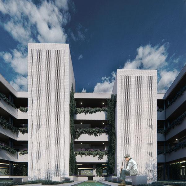 Edificación residencial plurifamiliar